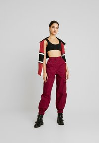 The Ragged Priest - TOPIC PANT - Bukse - maroon - 2