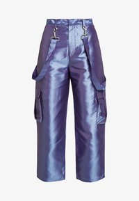 The Ragged Priest - STRAIGHT LEG TROUSER WITH COMBAT POCKETS & STRAP DETAIL - Trousers - lilac - 5