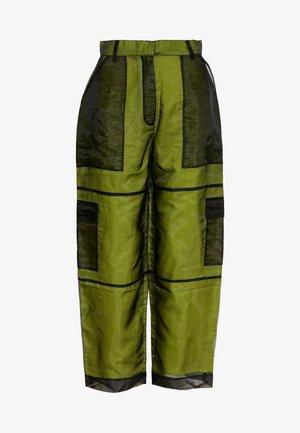 PANT LINING - Pantaloni - lime/black