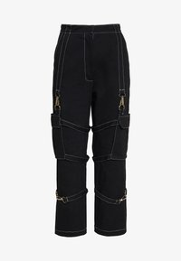 The Ragged Priest - PANT WITH TRIGGERS - Trousers - black - 0