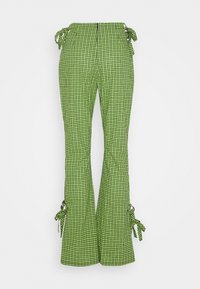 The Ragged Priest - TRADEMARK FLARE PANT - Bukse - lime - 1