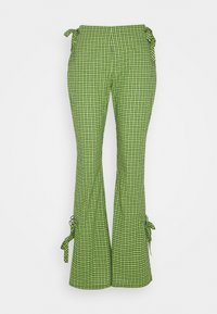 The Ragged Priest - TRADEMARK FLARE PANT - Bukse - lime - 0