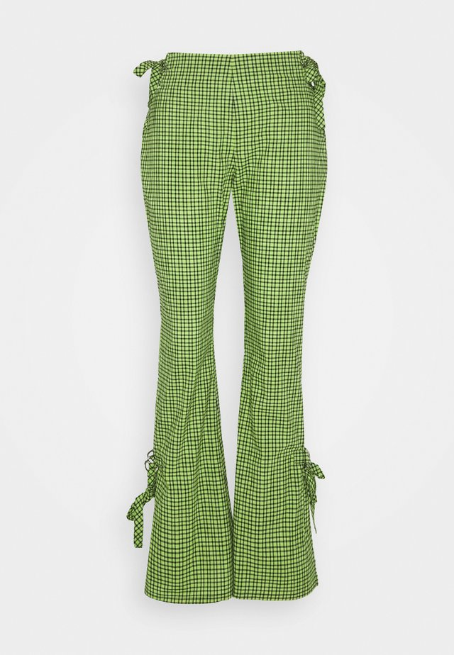 TRADEMARK FLARE PANT - Tygbyxor - lime