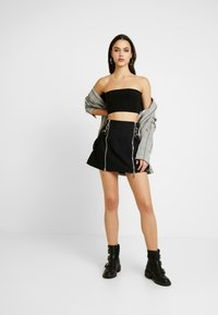 The Ragged Priest - TEARS SKIRT - Mini skirt - black - 1