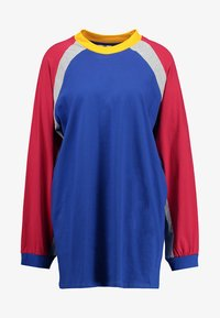 The Ragged Priest - PANELLED DRESS - Žerzejové šaty - blue/red/grey - 4