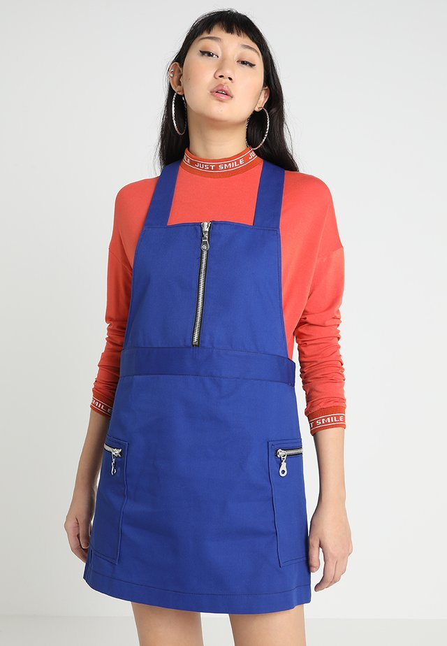 PINAFORE DRESS - Day dress - blue