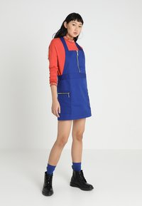 The Ragged Priest - PINAFORE DRESS - Denní šaty - blue - 1
