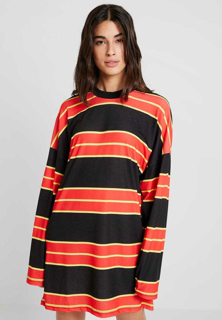 The Ragged Priest - SKATER DRESS - Jersey dress - black/multi