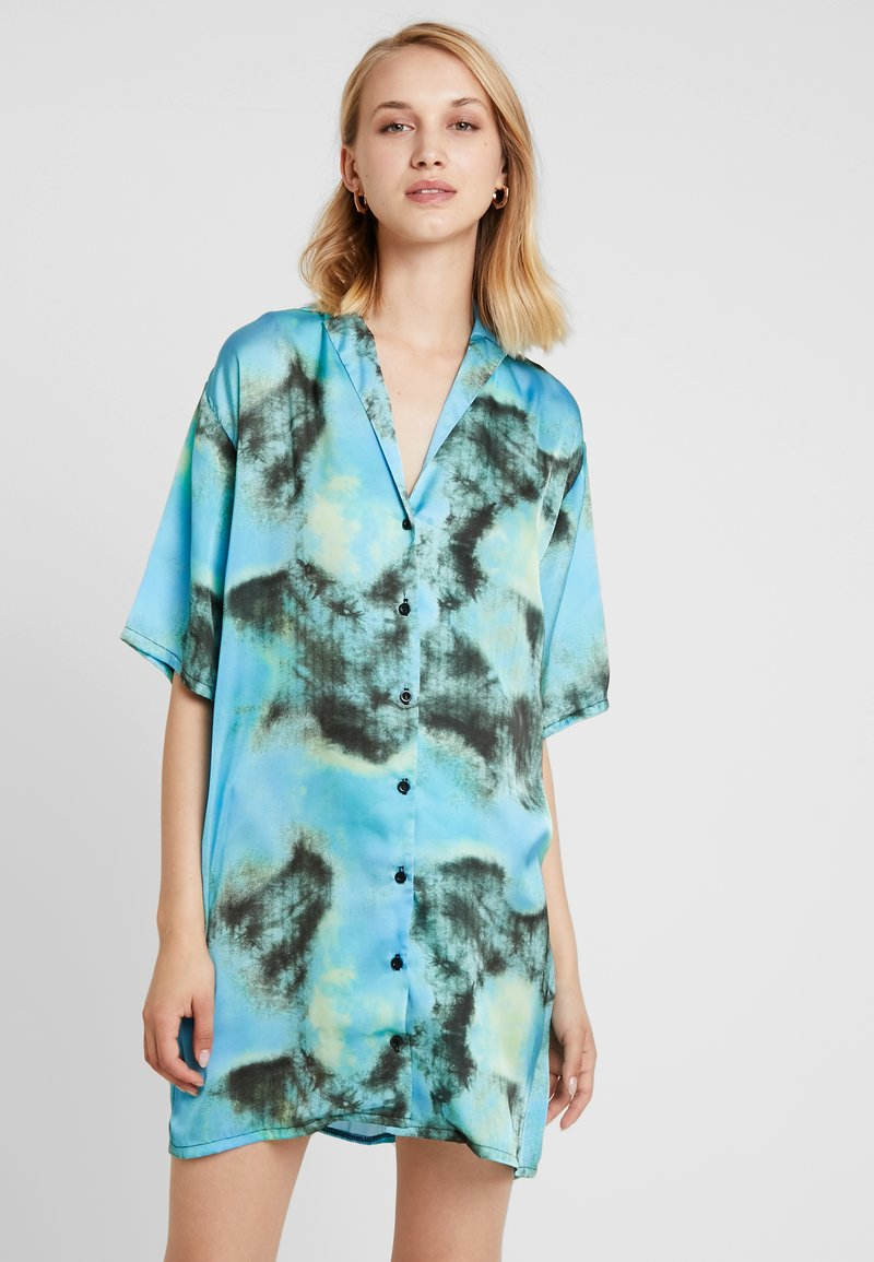 The Ragged Priest - TIE DYE DRESS - Abito a camicia - blue