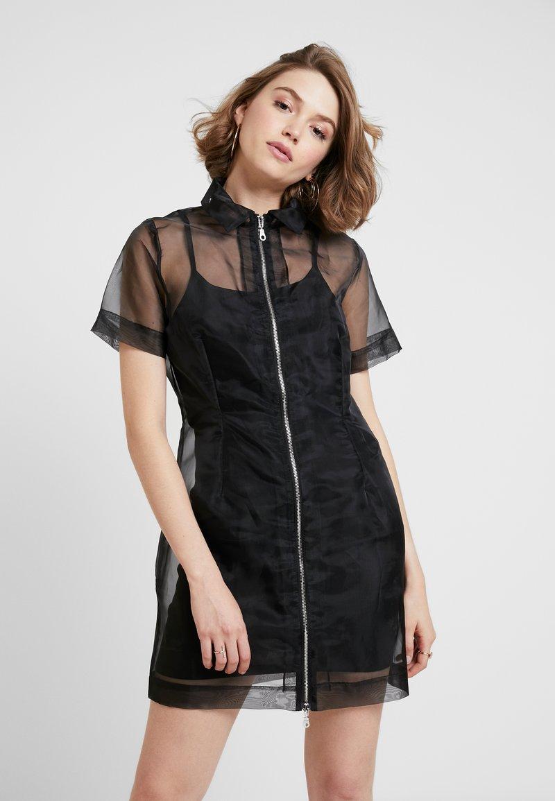 The Ragged Priest - HACKER DRESS - Day dress - black