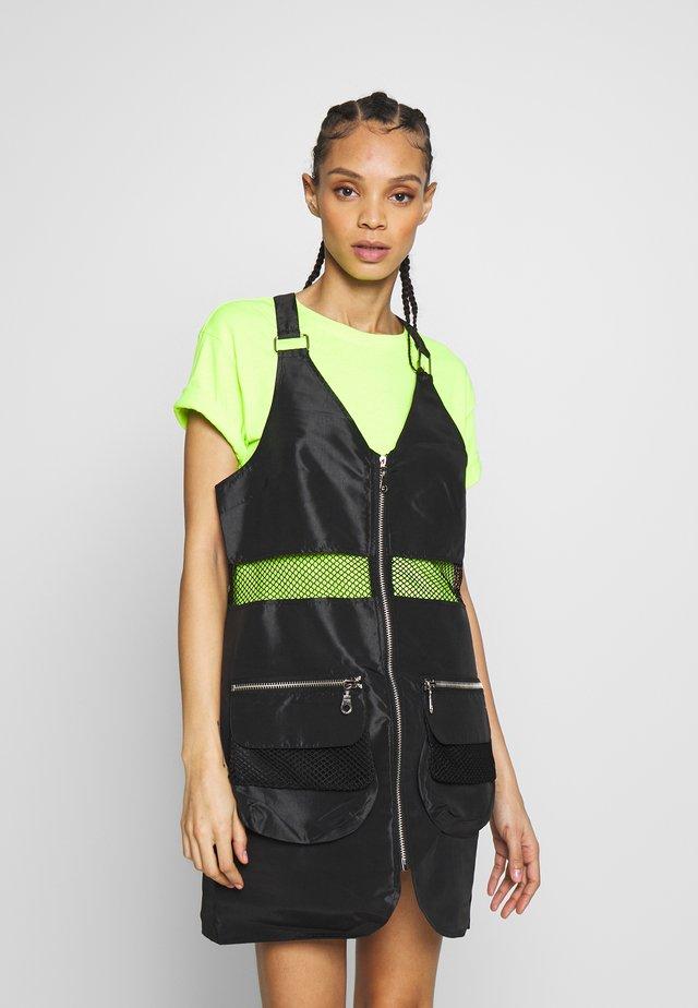 DEFINE DRESS - Freizeitkleid - black