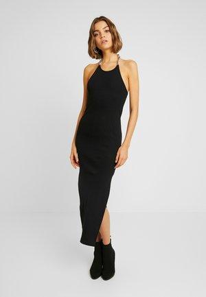 RELEASE DRESS - Pouzdrové šaty - black