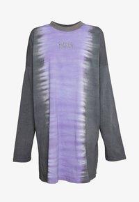 The Ragged Priest - DIP DYE SKATER DRESS - Vestito estivo - lilac/ black - 3