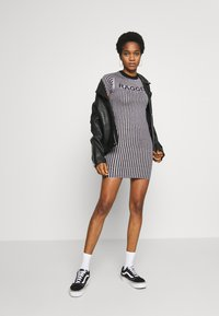 The Ragged Priest - PLATED RINGER DRESS - Jumper dress - lilac/black - 1