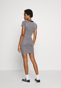 The Ragged Priest - PLATED RINGER DRESS - Jumper dress - lilac/black - 2