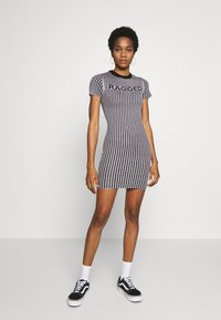 The Ragged Priest - PLATED RINGER DRESS - Jumper dress - lilac/black - 0
