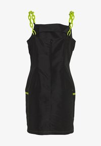 The Ragged Priest - DRESS CONTRAST CHAIN AND TRIMS - Day dress - black - 1