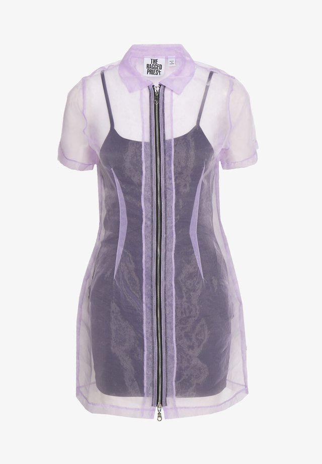 SHIRT DRESS - Cocktailjurk - lilac
