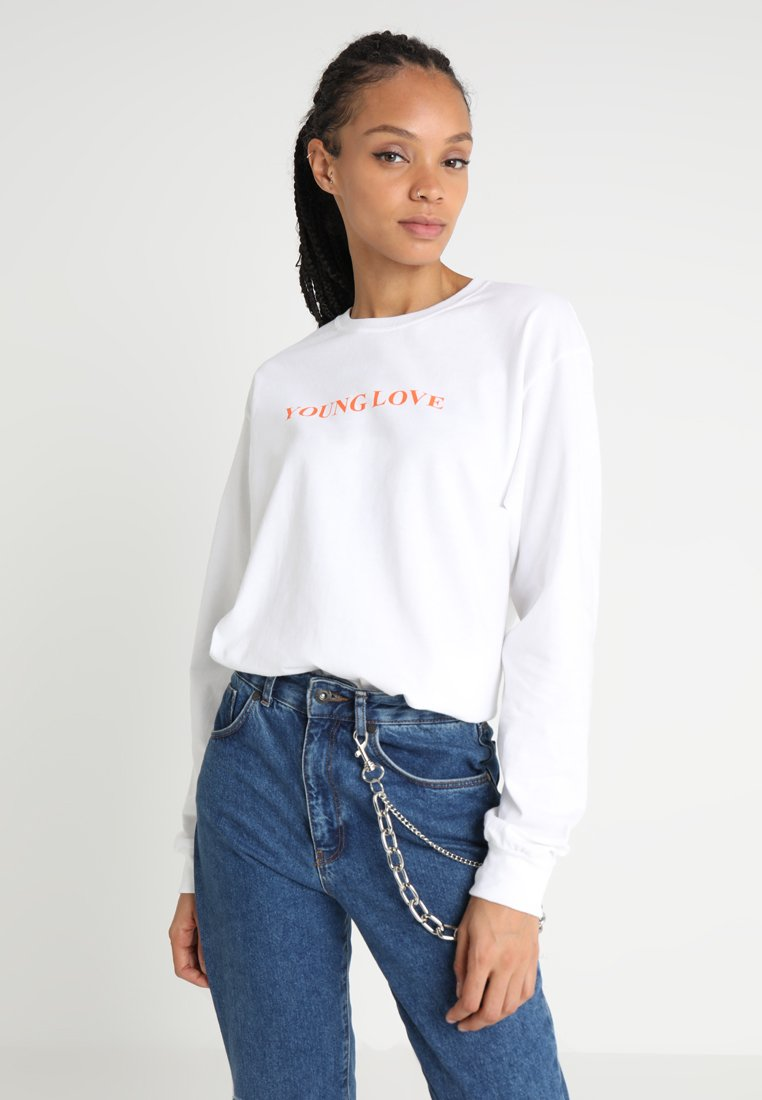 The Ragged Priest - CRUSH TEE - Long sleeved top - white