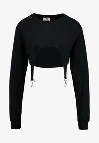 The Ragged Priest - SUPPLY CROP - Camiseta de manga larga - black - 4
