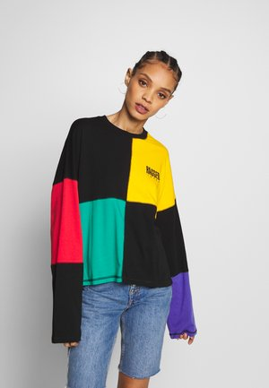 SQUARE COLOURBLOCK SKATER TEE - Top s dlouhým rukávem - multi