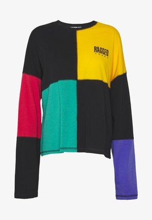 SQUARE COLOURBLOCK SKATER TEE - Långärmad tröja - multi