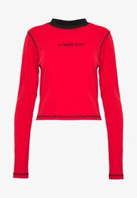 The Ragged Priest - FLATLOCK LONGSLEEVE - Top s dlouhým rukávem - red