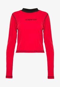The Ragged Priest - FLATLOCK LONGSLEEVE - T-shirt à manches longues - red - 4