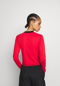 The Ragged Priest - FLATLOCK LONGSLEEVE - Top s dlouhým rukávem - red - 2