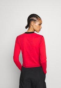 The Ragged Priest - FLATLOCK LONGSLEEVE - T-shirt à manches longues - red - 2