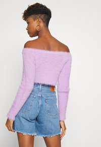 The Ragged Priest - ZIP BARDOT - Vest - lilac - 2