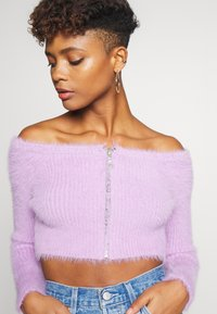 The Ragged Priest - ZIP BARDOT - Vest - lilac - 3