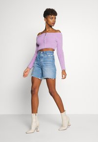 The Ragged Priest - ZIP BARDOT - Vest - lilac - 1