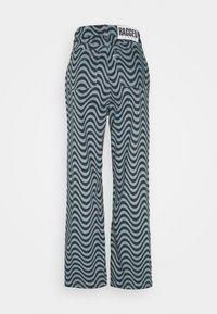 The Ragged Priest - WAVE PRINT DAD - Straight leg jeans - blue - 1