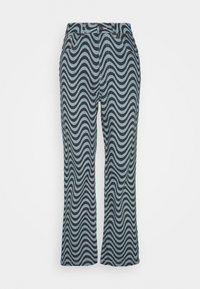 The Ragged Priest - WAVE PRINT DAD - Straight leg jeans - blue - 0