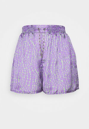 ROOTS - Shorts - purple/lime