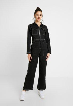 BOOM BOILER - Tuta jumpsuit - black
