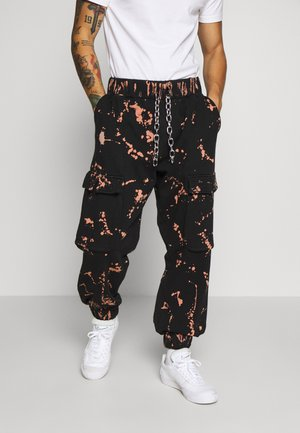THE COMBAT TRACK PANT - Pantalon de survêtement - bleach rust splat