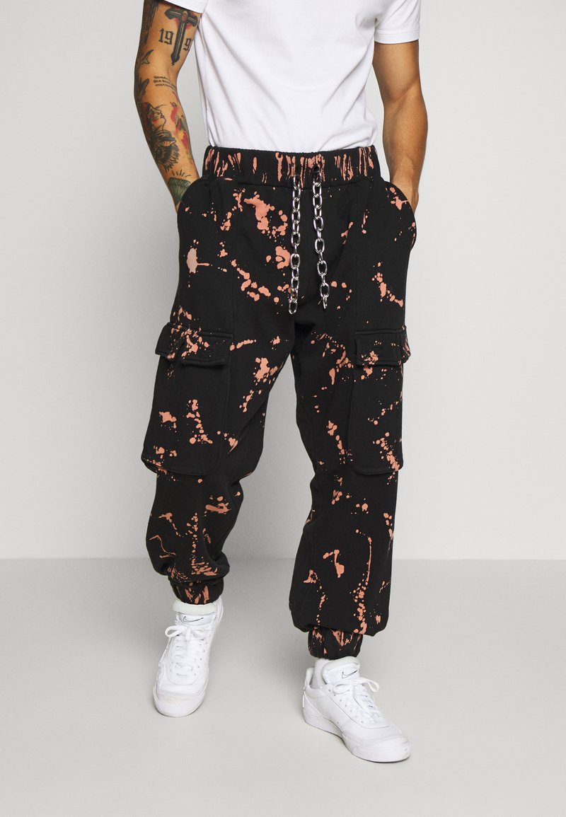 The Ragged Priest - THE COMBAT TRACK PANT - Trainingsbroek - bleach rust splat