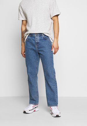Straight leg jeans - blue wash
