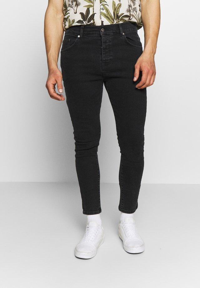 Skinny džíny - charcoal