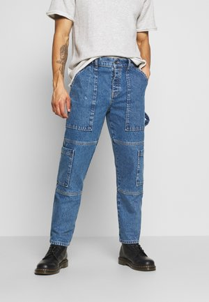 COMBAT - Slim fit jeans - blue wash