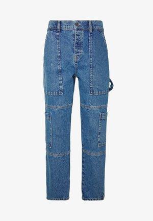COMBAT - Džíny Slim Fit - blue wash