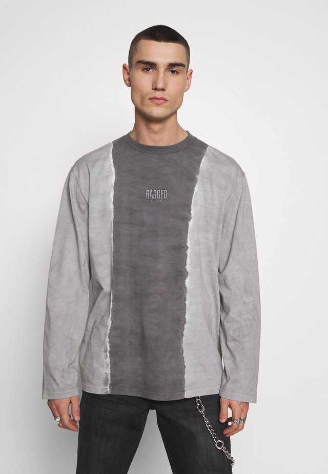JEANS TWO TONE TEE - Longsleeve - grey