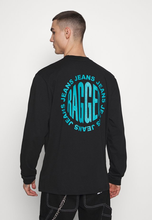 GRAPHIC LOGO  - Longsleeve - black