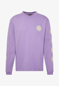 The Ragged Priest - GRAPHIC SLEEVE LOGOLS TEE - Maglietta a manica lunga - purple - 4