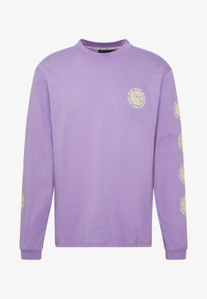 GRAPHIC SLEEVE LOGOLS TEE - Maglietta a manica lunga - purple