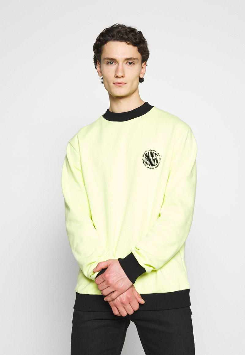 The Ragged Priest - CREWNECK GRAPHIC LOGO - Sweater - yellow