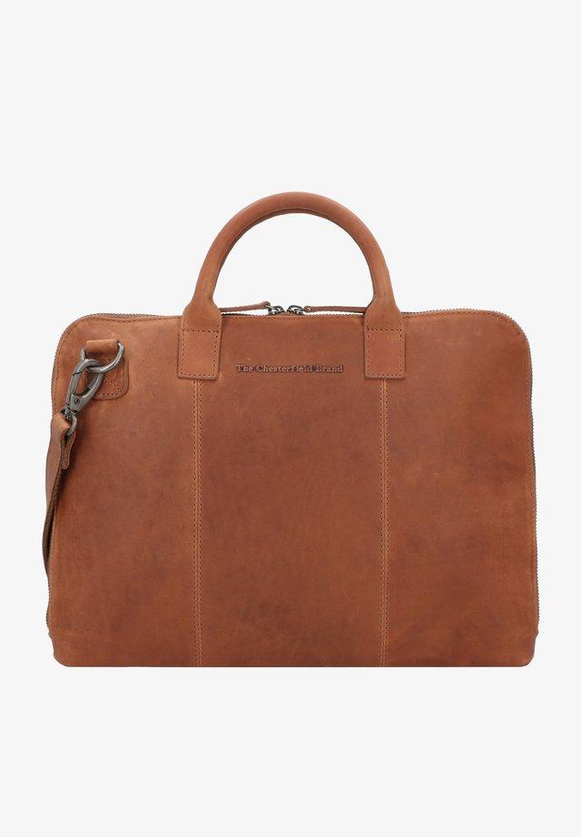 HARVEY - Briefcase - cognac