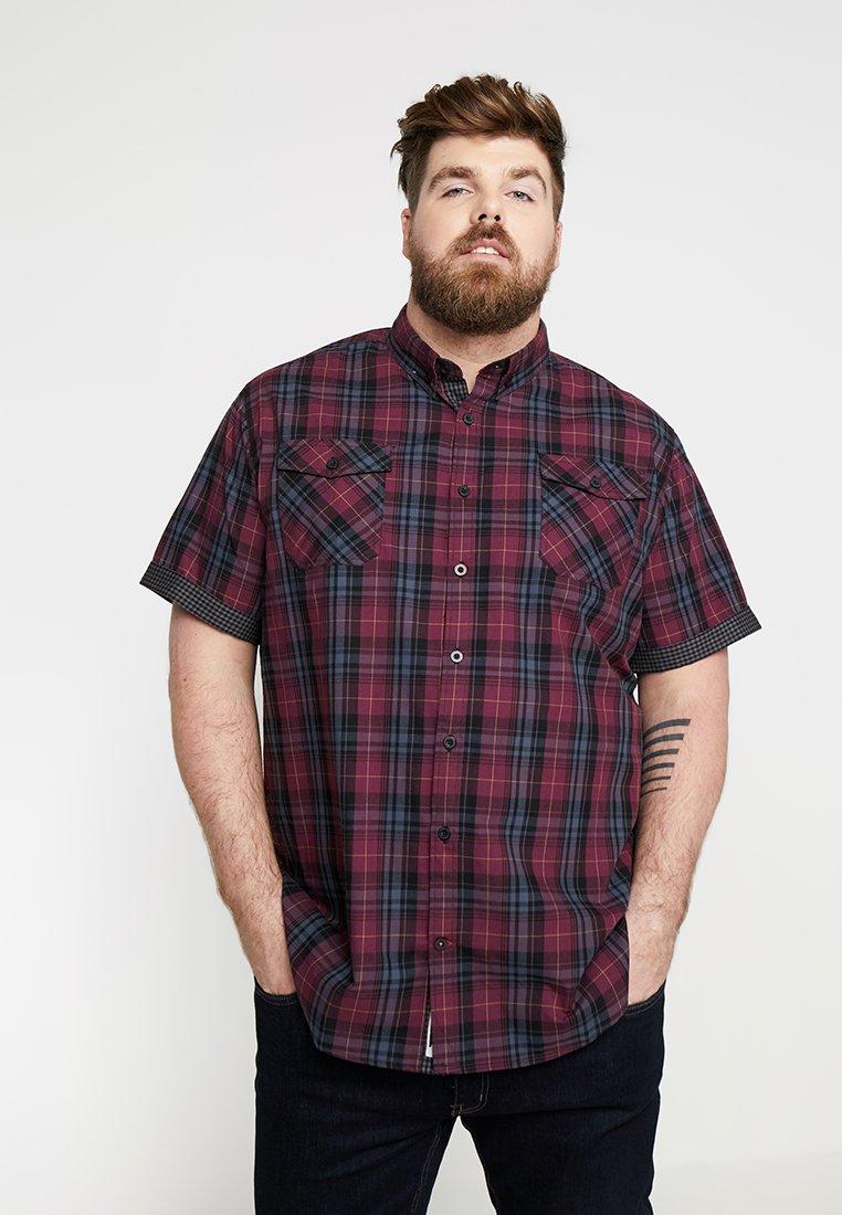 Duke - HERBIE - Shirt - plum/charcoal